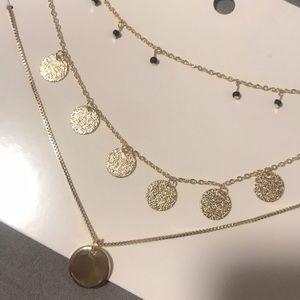 Three set layered necklaces